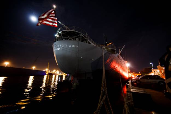 American victory ship boat parade of lights solutions Tampa aquarium military discount